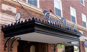 Enterance at Charley Creek Inn - Wabash, Indiana