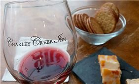 Wine Testing at Charley Creek Inn - Wabash, Indiana