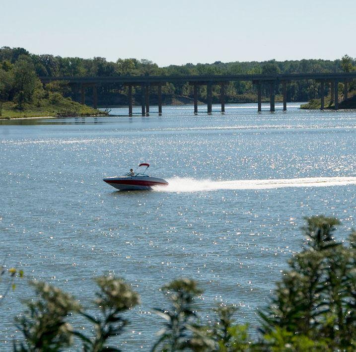 Salamonie Reservoir at Wabash, Indiana