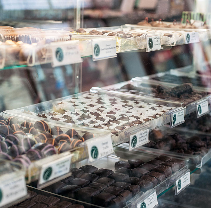 Ice Cream and Candy Shoppe at Charley Creek Inn - Wabash, Indiana