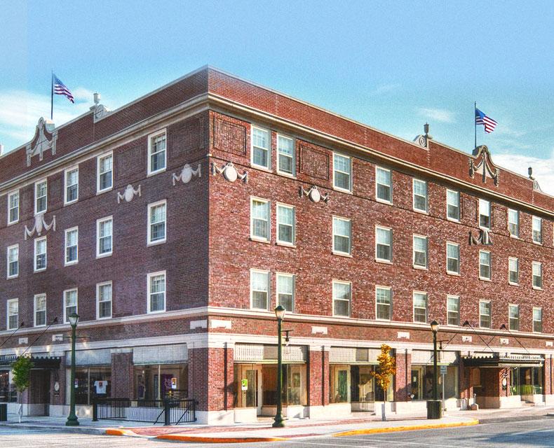 Historic Architecture at Charley Creek Inn - Wabash, Indiana