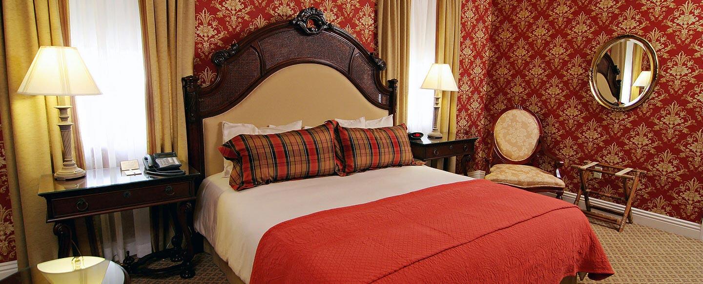 Bedroom at Charley Creek Inn - Wabash, Indiana