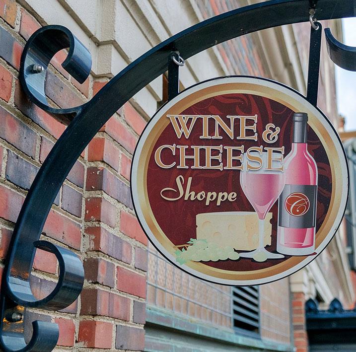 Wine & Cheese Shoppe at Charley Creek Inn - Wabash, Indiana