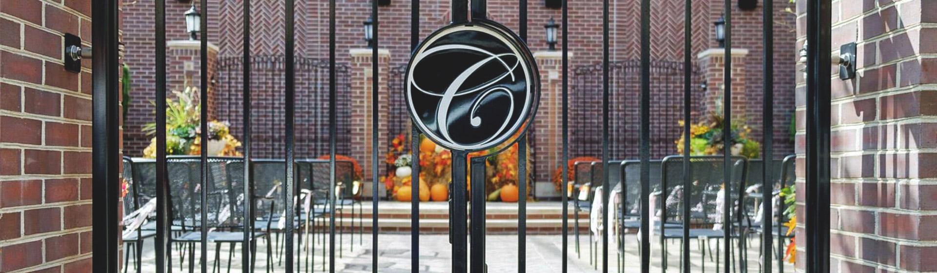 Gate of Charley Creek Inn - Wabash, Indiana
