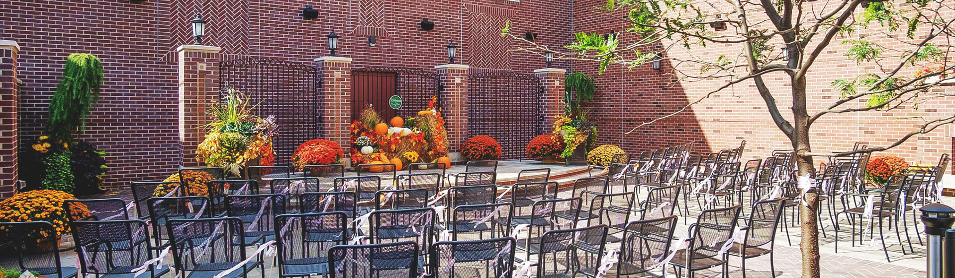 The Courtyard​​ at Charley Creek Inn - Wabash, Indiana
