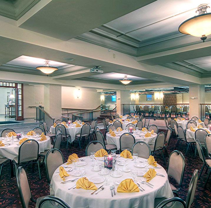 Big Four Ballroom at Charley Creek Inn - Wabash, Indiana