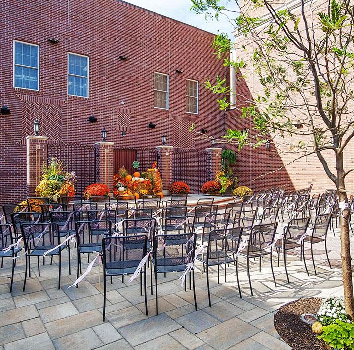 The Courtyard at Charley Creek Inn - Wabash, Indiana