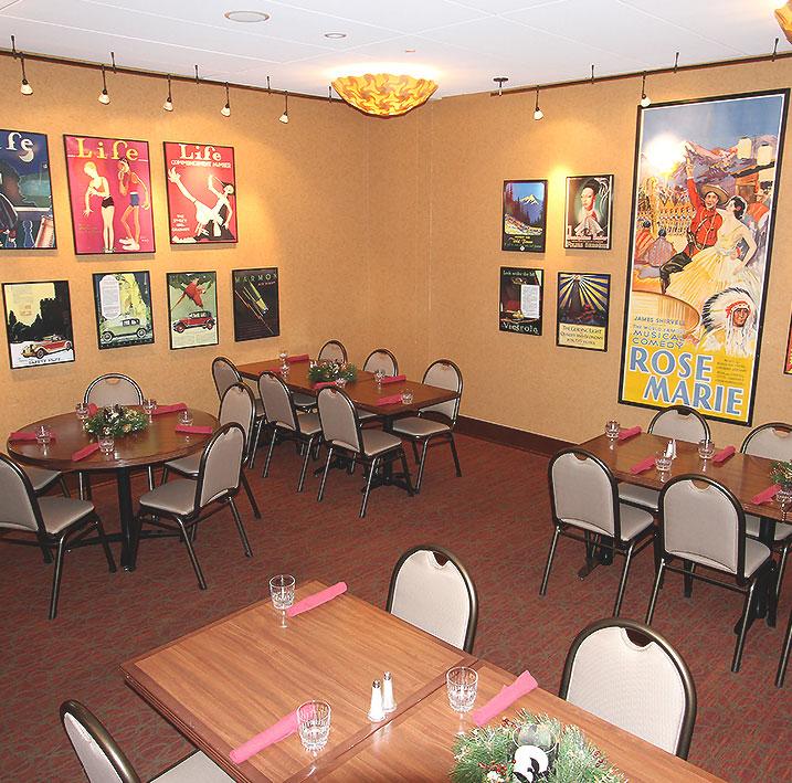 The Gatsby Room at Charley Creek Inn - Wabash, Indiana